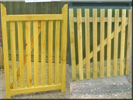 SOFTWOOD TREATED PALED GATES