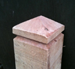 DIAMOND TOPPED SINGLE GROOVE BOLLARD