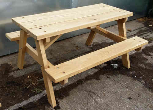 Heavy duty picnic table 4'-1.2m - COLLECTION OR LOCAL DELIVERY ONLY
