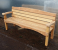 BILMOR OAK BENCH SEAT