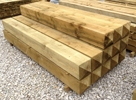SOFTWOOD PRESSURE TREATED GATE POSTS