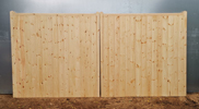 STANDARD SOFTWOOD BOARDED - Flat top