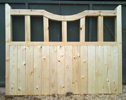 LAIFE CURVE SOFTWOOD GATE