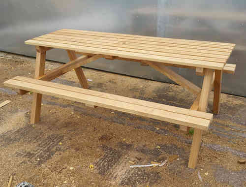 Picnic table 6'-1.8m