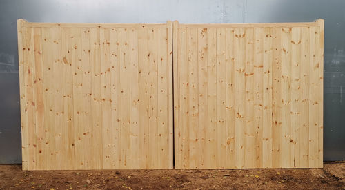 Pair of Standard Softwood to cover up to 3.6m, 12foot.