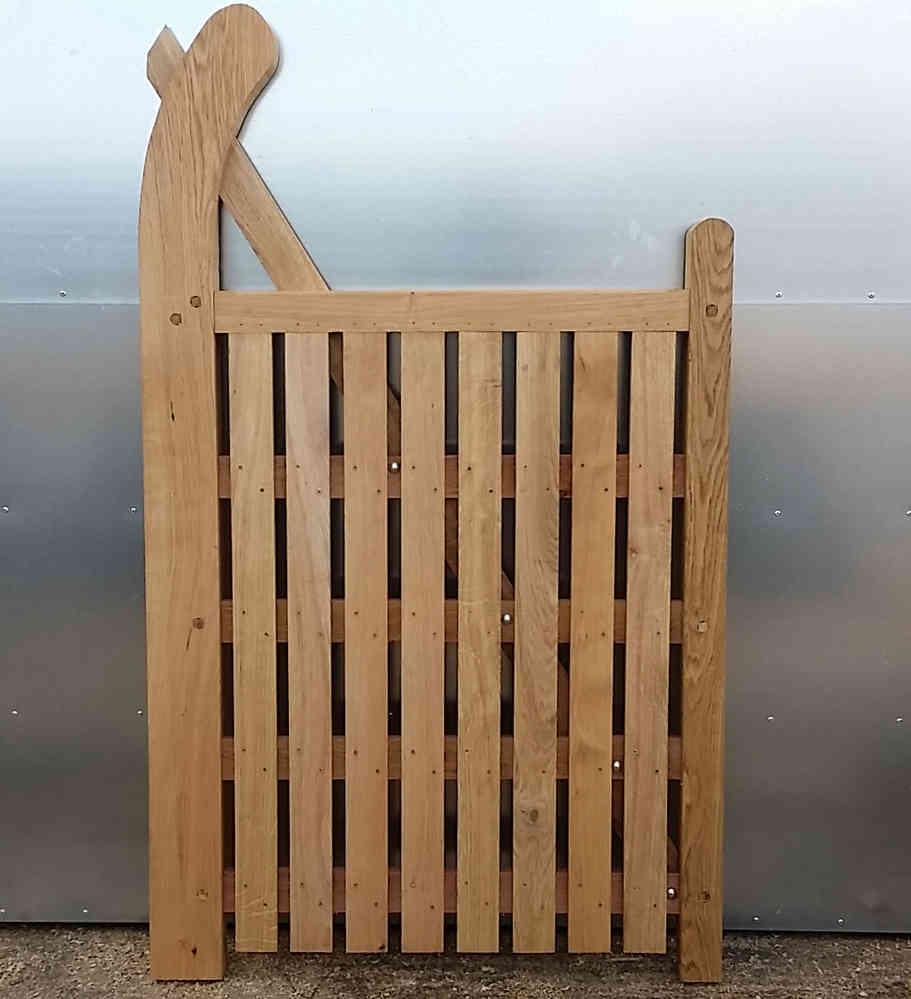 Devon morticed garden gate up to 4\'-1.2m wide - ingestre woodworks