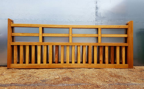 Iroko Foxhole gate - up to 12ft 3.66m wide
