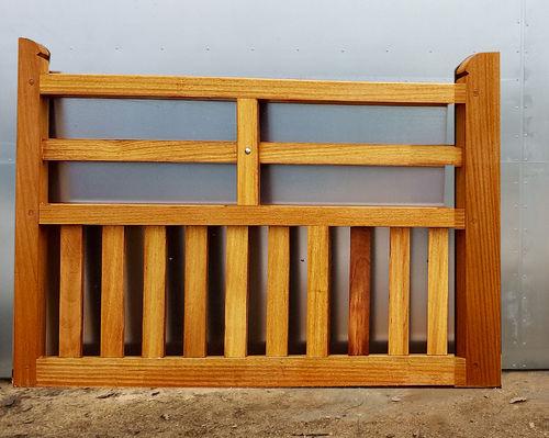 Iroko Foxhole gate - up to 6ft 1.8m wide